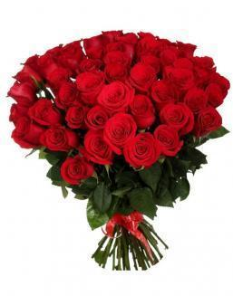 33 long red roses deluxe | Flowers to girlfriend